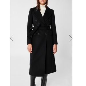 MACKAGE YVONNE WOOL-CASHMERE DOUBLE-BREASTED COAT